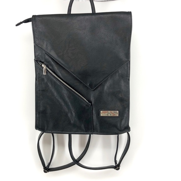 Sominta Handbags - Sominta Lithuania Black Leather Backpack New